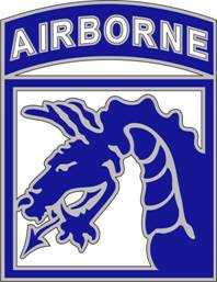 18th Airborne Corps Combat Service ID Badges